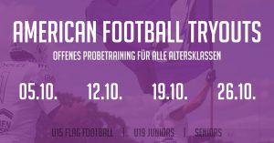 American Football Tryouts Reutlingen Eagles