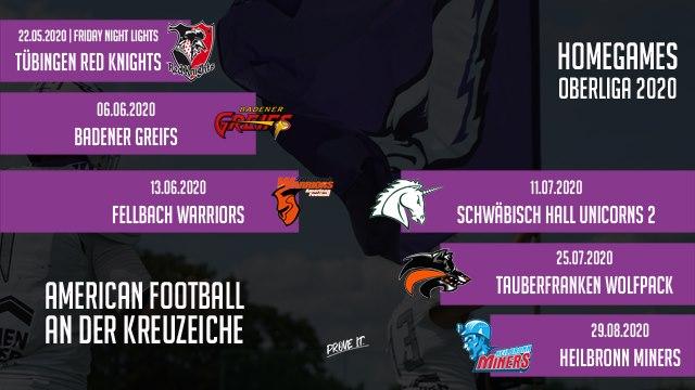 Reutlingen Eagles Gamedays 2020